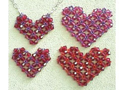 Crystal Valentine Heart