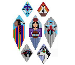 Archived Patterns #1: Native American Style