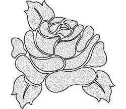 ETCHED ROSE