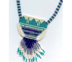Mexican Pottery Necklace
