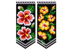 Hibiscus Flower Panels
