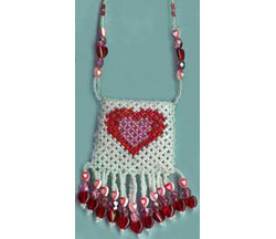 Heart-of-My-Heart Netted Pouch
