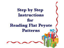 Reading Peyote Patterns: Flat Peyote