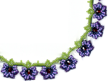 Flower Vine Necklace