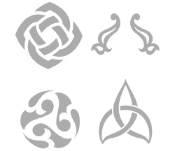 Celtic Mix (4 smaller designs)