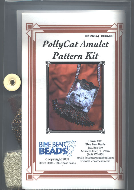 PollyCat Amulet Pattern Kit