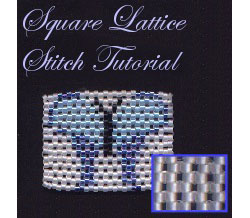 Square Lattice Stitch Tutorial