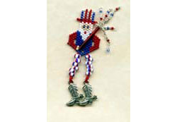 Uncle Sam Earrings