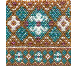 Touch of Class 2 - Huichol style Bracelet