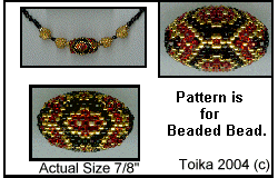 Beaded Bead Three