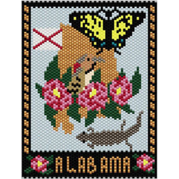 Alabama State Mini Tapestry