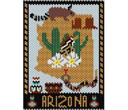 Arizona Amulet / Mini Tapestry