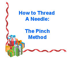Thread A Needle The Easy Way!