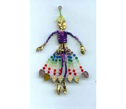 Rainbow Goddess Ornament