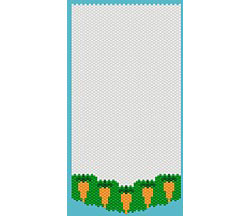 Banner Graph Paper With Carrot Border