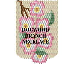 Dogwood Branch Necklace