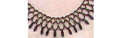 """Turkey Feathers"" Collar"