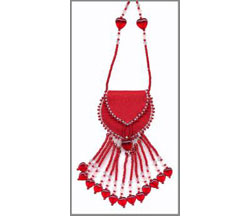 Mini Treasure Pouch - Drop Fringe