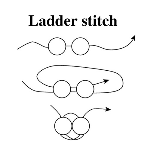 Ladder Stitch Instructions