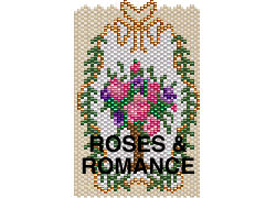 ROSES & ROMANCE NECKLACE OR AMULET PURSE