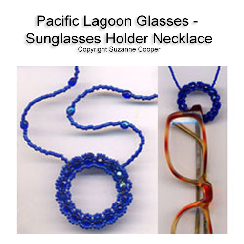 PACIFIC LAGOON GLASSES - SUNGLASSES HOLDER NECKLACE