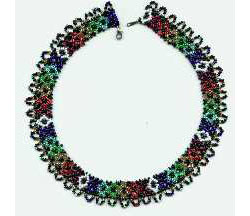 Night Rainbow Necklace