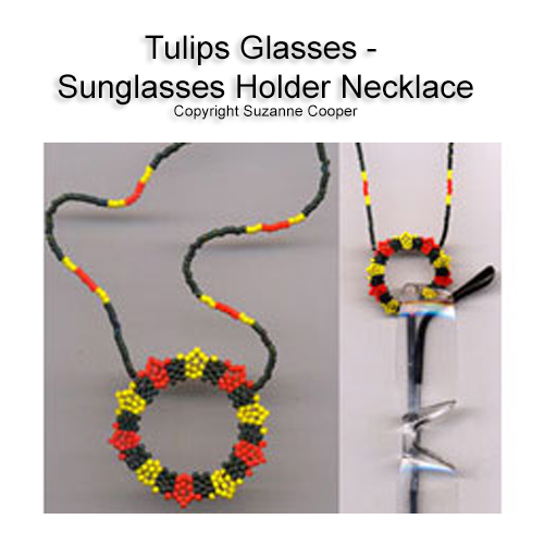 TULIPS GLASSES - SUNGLASSES HOLDER NECKLACE