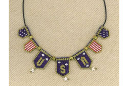USA Patriotic Necklace