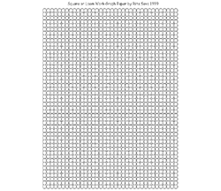 Square Stitch or Loom Graph Paper
