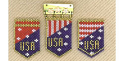 USA Patriotic Pins