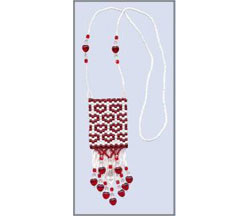 Be My Valentine - Peyote Amulet Bag