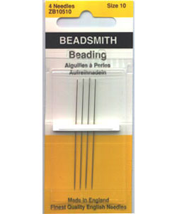 Size 10 - Beadsmith - 4 Pack