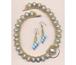 Necklace Blue Danube