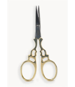 Scissors, Gold Handle JT122