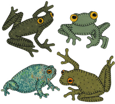 24 frogs