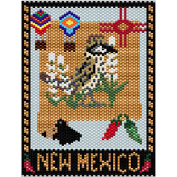 New Mexico State Amulet/Mini tapestry