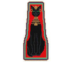 Bastet Center Panel or Tie