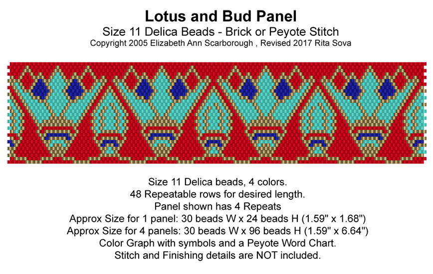 Lotus and Bud Panel