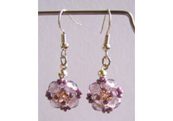 Lilac Tenderness Earrings