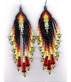 Glowing Candles Earrings