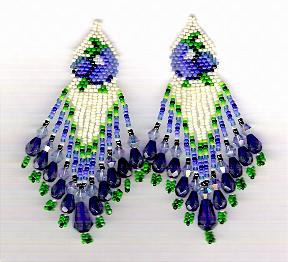 Texas Bluebonnet Earrings