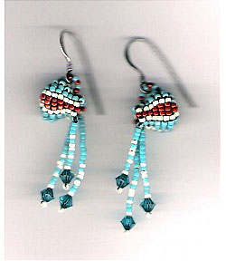 Water Jug Earrings