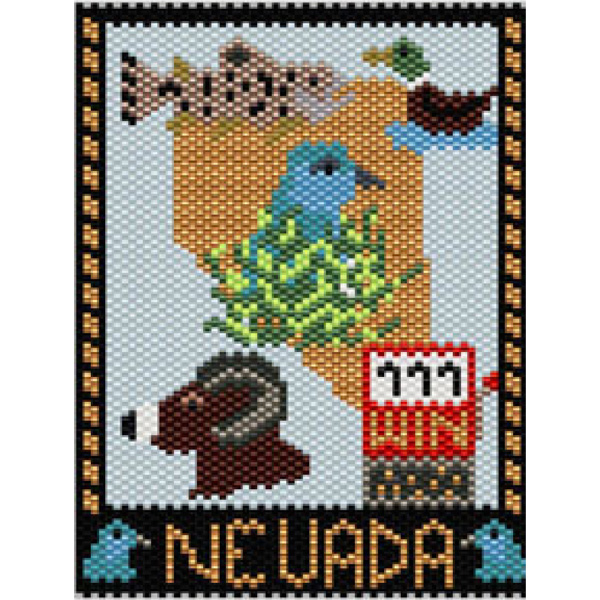 Nevada State Mini Tapestry