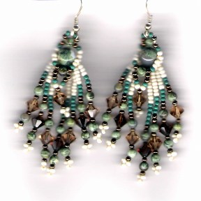 Around The World Speedy Bead Earrings