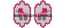 BABY BUGGY EARRINGS