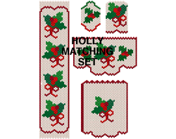 HOLLY 6 PATTERN SET