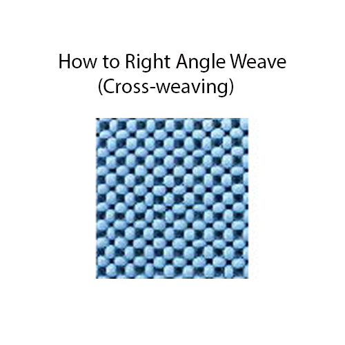 How to Right Angle Weave (Cross-weaving)