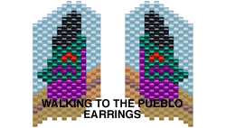 WALKING TO THE PUEBLO EARRINGS