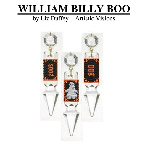 William Billy Boo Crystal Drop Cover