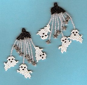 Three Sheets in the Wind Halloween Earrings/Charms